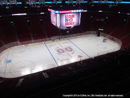 Montreal Canadiens Bell Center Seating Chart Bell Centre View From Section 303 Vivid Seats