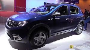 renault stepway 2018. perfect 2018 2017 dacia sandero stepway  exterior and interior walkaround debut at  2016 paris motor show youtube in renault stepway 2018