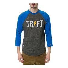 Trukfit Mens The Tr Ft Raglan Graphic T Shirt