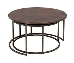 nesting coffee table beautiful copper top tables round s australia glass black 840