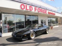 1983 pontiac trans am trans am coupe 2 door