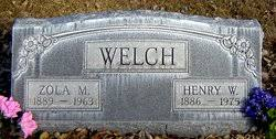 Henry Wesley Welch (1886-1975) - Find A Grave Memorial