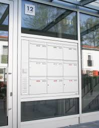 can you put a mail slot in glass door designs