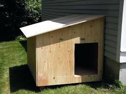 double dog house plans simple extra large