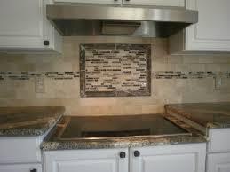 Tile Kitchen Backsplash Designs Travertine Tile Backsplash Ideas For Behind The Stove Home
