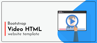 Use Templates Responsive And Easy To Use Bootstrap Video Html Website