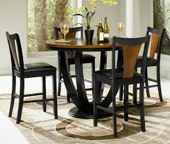Small Distressed Dining Table Black Dining Table And Chairs Old Antique 36 Inch Solid Wood
