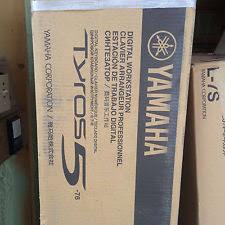 yamaha tyros 5. yamaha tyros 5-76 note keyboard workstation 5 m