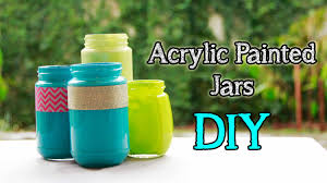 mason jars painted distressed 10 thumb how to paint glass with acrylic home design 17
