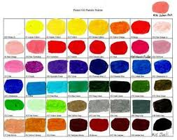 Palette Of Pentel Oil Pastel Colors Oil Pastel Colours