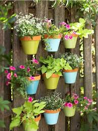 arrange a pallet board and hang several pots on it and place on your balcony where it will receive some sun it s easy and the best part is it will create