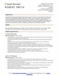 Audit Manager Resume Samples It Manager Resume Samples Qwikresume
