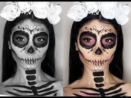 makeup tutorial easy sugar skull tutorial