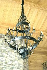 outdoor battery candle chandeliers for gazebos chandelier s garden
