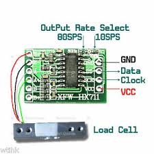 HX711 Load Cell Amplifier Module for MCU AVR Arduino   eBay