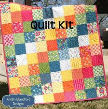 Best Day Ever Patchwork Baby Quilt Kit, Simple Quick Easy ... & Best Day Ever Patchwork Baby Quilt Kit, Simple Quick Easy Adamdwight.com