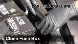 blown fuse check 2009 2016 lincoln mks 2011 lincoln mks 3 7l v6 6 replace cover secure the cover and test component