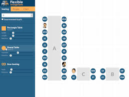 Seating Chart Demo Flexible Arrangements By Coelho Software