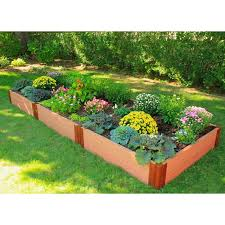 composite raised garden bed. Wonderful Bed Composite Raised Garden Bed  4u0027 X 12u0027  Intended