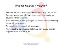 Need To Do A Resume Do I Need A Resumes Magdalene Project Org