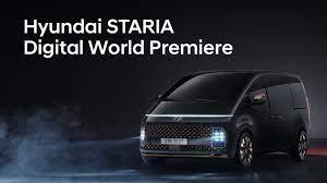 Hyundai STARIA Digital World Premiere - YouTube