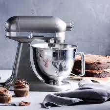 kitchenaid artisan mini stand mixer with flex edge beater williams sonoma