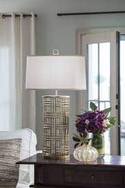 home lighting decor. living room decor with beautiful handwrought iron lamp in antique silver finish home lighting