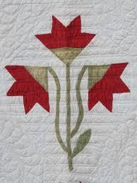 59 best Carolina Lily Quilts & Blocks images on Pinterest | Quilt ... & Detail, Carolina Lily Applique, c 1860, VT, Antique Quilts, Marie Miller Adamdwight.com
