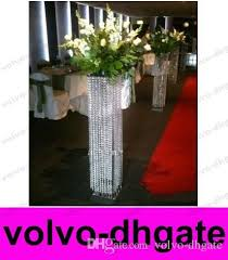 flower stands for weddings. white pillars stands flowers for weddings/floor standing wedding centerpiece and flower stand/lighted collumns galy122 personalized party favors weddings