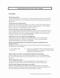 What Is A Resume Cover Letter Look Like 100 Inspirational How to Do A Resume Cover Letter Document 99