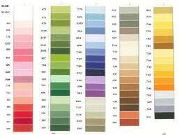 Dmc Floche A Broder Size 16 Cotton Thread Full Skein Colors 208 738
