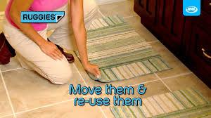 jml ruggies 8 self adhesive reusable non slip skid rug grippers pads