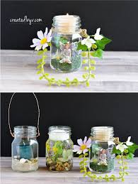 3 ways to make mason jar lanterns