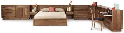 build bedroom furniture. copeland moduluxe custom bedroom furniture in walnut build i