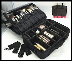 makeup partment bag hair tools suitable for travel makeup artist