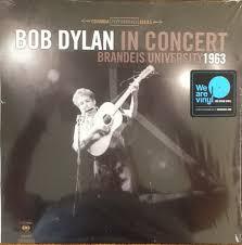 <b>Bob Dylan</b> - <b>Bob Dylan</b> In Concert Brandeis University 1963 (2017 ...