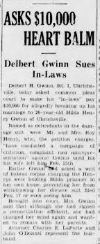 Delbert H Gwinn and first wife Hilda Henry Gwinn d. of the Roy Henrys. -  Newspapers.com