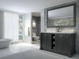 Bathroom Vanity Black Ace Westwood 60 Inch Double Sink Bathroom Vanity Set In Black Finish