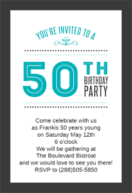 50th birthday invitations free printable classic 50th birthday party free birthday invitation