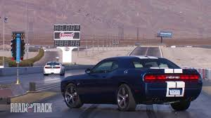 Dodge Challenger SRT8 392 vs. Shelby GT350 | Road and Track - YouTube