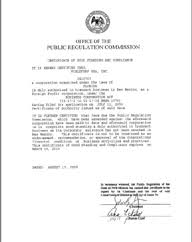 New Mexico Good Standing Certificate Nm Certificate Of Existence