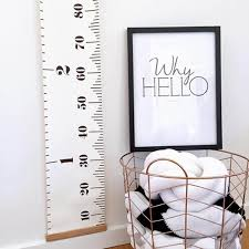 Canvas Height Chart Jialeey Roll Up Canvas Height Chart Growth Chart Ruler Wall