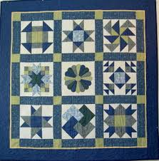Quilting Lessons for the Beginner...Learn How to Quilt for ... & I love blue and green together, and that's why I chose those colours for a  sampler using my favorite blocks. Adamdwight.com