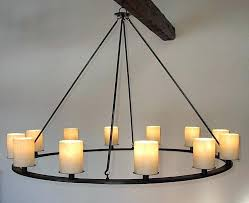iron candle chandelier by j iron candle chandelier lighting iron candle chandelier