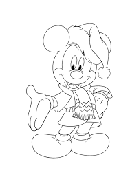 Small Picture Disney Christmas Coloring Pages To Print Coloring Coloring Pages