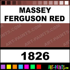 Massey Ferguson Red Farm And Implement Spray Paints 1826