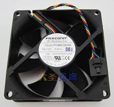2017 original foxconn pva080g12h p00 12v 0 60a 8cm 8025 4 wire for current 0 60a