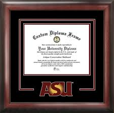 arizona state university diploma frame gold medallion tassel  college arizona state university sun devils college logo spirit mat cutout diploma