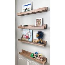 set of 4 gallery wall shelf nursery