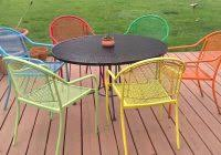 painted metal patio furniture. Cast Iron Outdoor Dining Set Awesome How To Paint Metal Patio Painting  Furniture Epic Painted